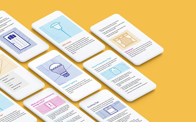 Mobile Website Design for Reliant